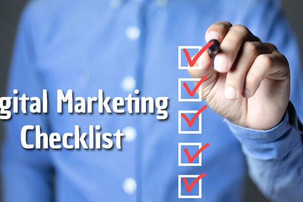 SimpliPixel Digital Marketing Checklist