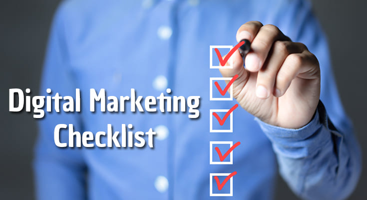 SimpliPixel Digital Marketing Checklist