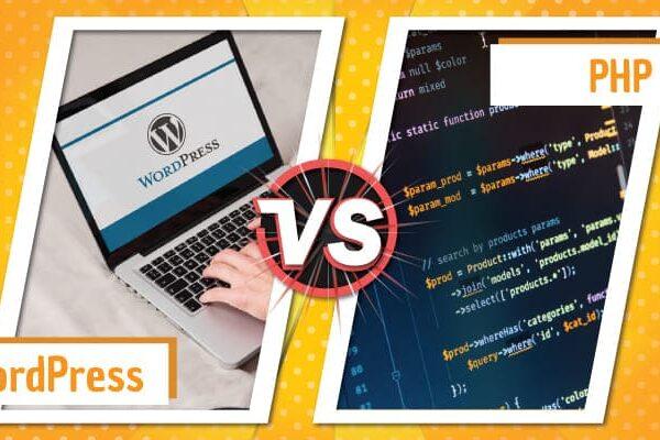 Wordpress vs Php