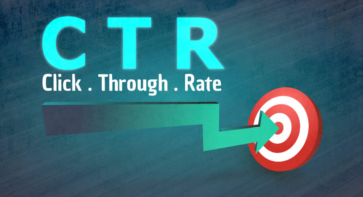 What is click through rate?