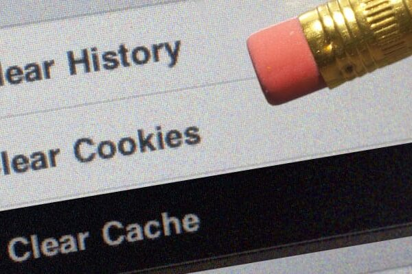 how to clear cache from web browser